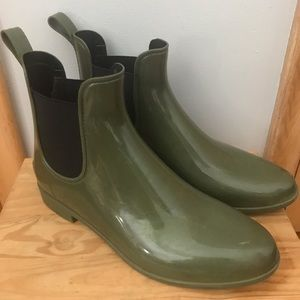 J. crew Rain Boots size 11